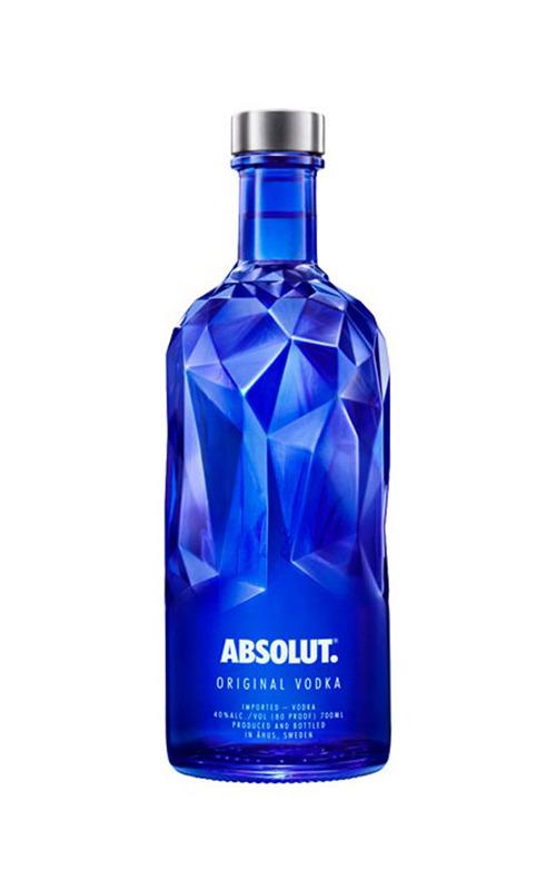 Absolut Vodka Blue Facet