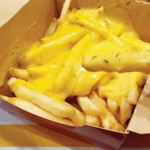 Cheese & Salted Egg Fries