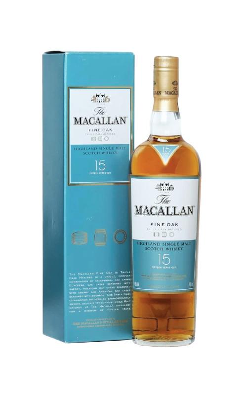 Macallan Fine Oak 15 Years Old