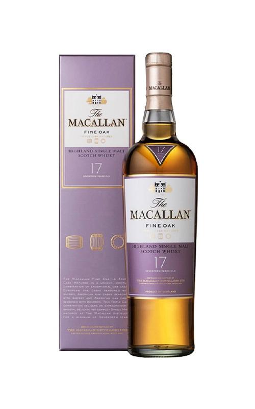 Macallan Fine Oak 17 Years Old