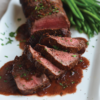ROASTED BEEF WITH RED WINE SAUCE