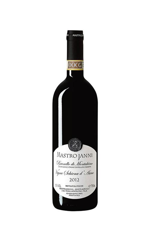 Rượu Chát Mastrojanni Vigna Schiena d'Asino, Brunello di Montalcino DOCG