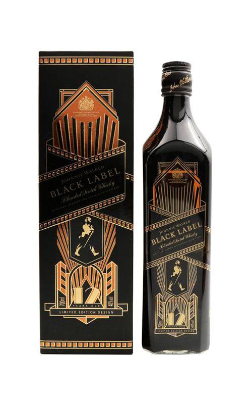 Rượu Johnnie Walker Black Limited Edition (Shadow 2)