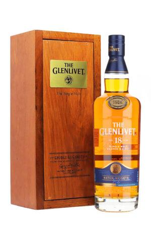 Rượu Scotch Glenlivet 18 Years Old - Woodern Box