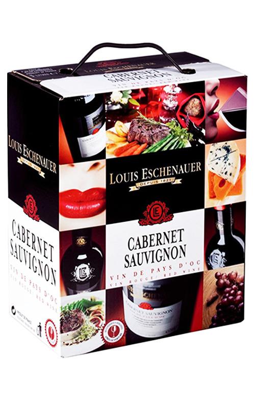 Rượu Vang Bịch Louis Eschenauer Cabernet Sauvignon 3L