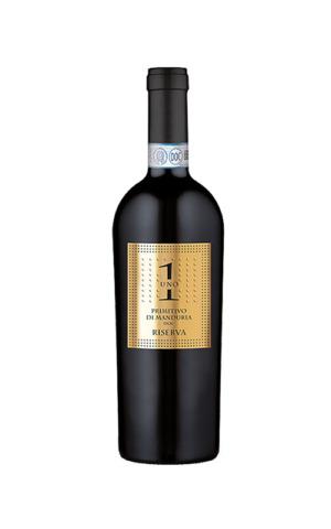 Rượu Vang Chính Hãng Uno 1 Primitivo di Manduria Reserva