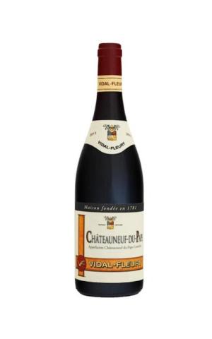 Rượu Vang Nhập Khẩu Vidal-Fleury Chateauneuf-du-Pape 2015