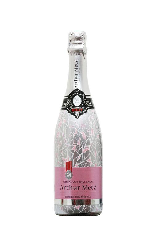 Rượu Vang Nổ Arthur Metz Cremant D'Alsace Limited Edition Rose