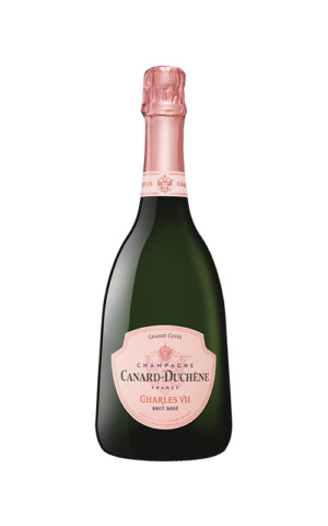 Rượu Vang Nổ Canard-Duchene Charles VII Grande Cuvee Rose Brut