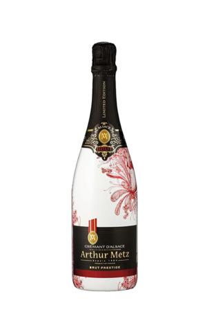 Rượu Vang Sủi Tăm Crémants d'Alsace - Prestige Brut Edition Rouge