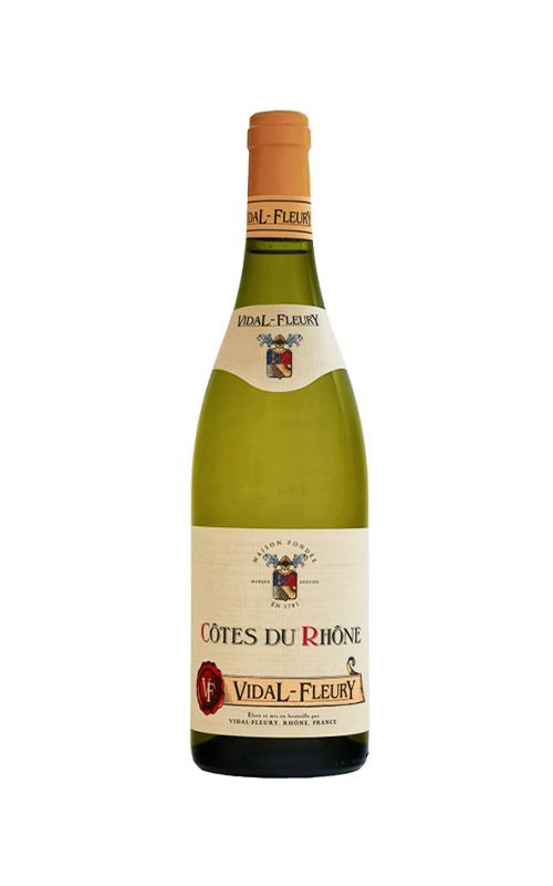 Rượu Vang Trắng Vidal Fleury Cotes Du Rhone Blanc