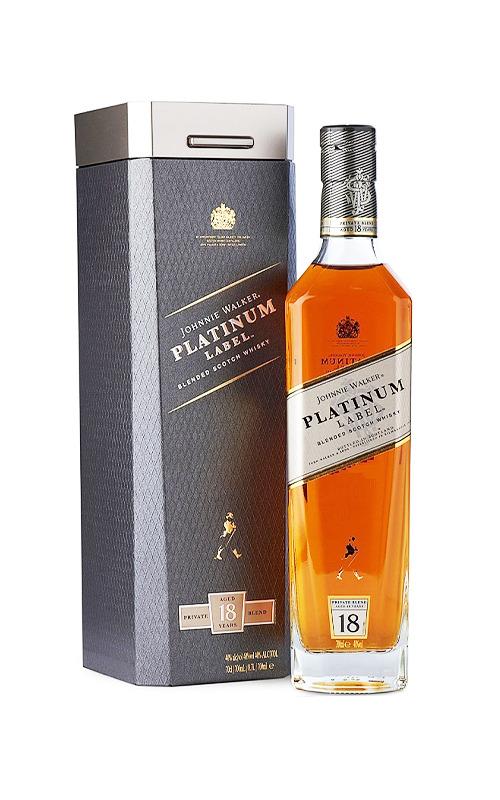 Rượu Whisky Johnnie Walker Platinum 18Y 1750ml