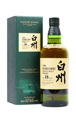 Single Malt Whiskey Hakushu 18 Years Old