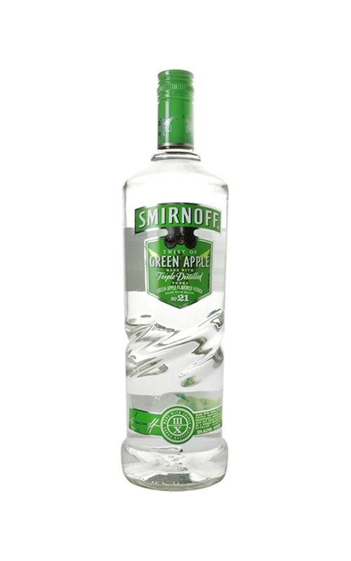 Smirnoff Vodka Green Apple