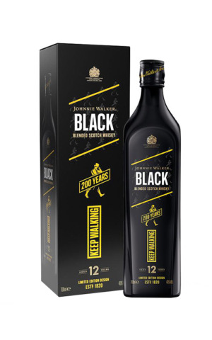 Johnnie Walker Black Label 200 Years Icons Limited Edition