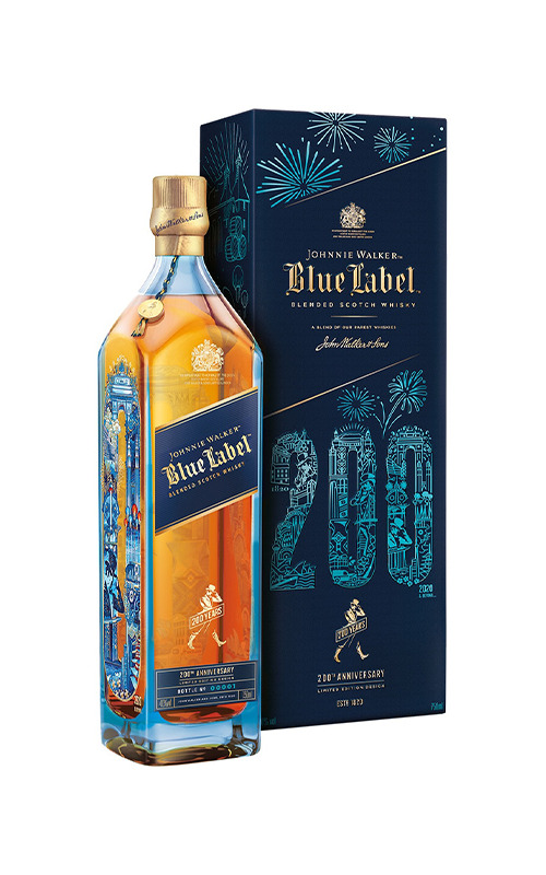 Johnnie Walker Blue Label 200 Years Icons Limited Edition