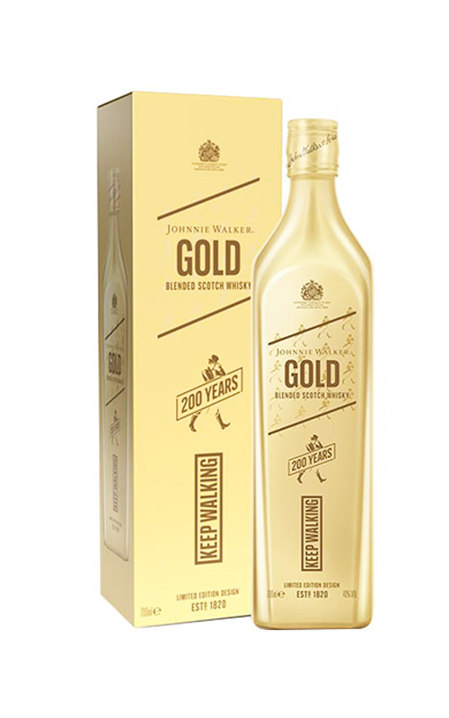 Johnnie Walker Gold Label 200 Years Icons Limited Edition