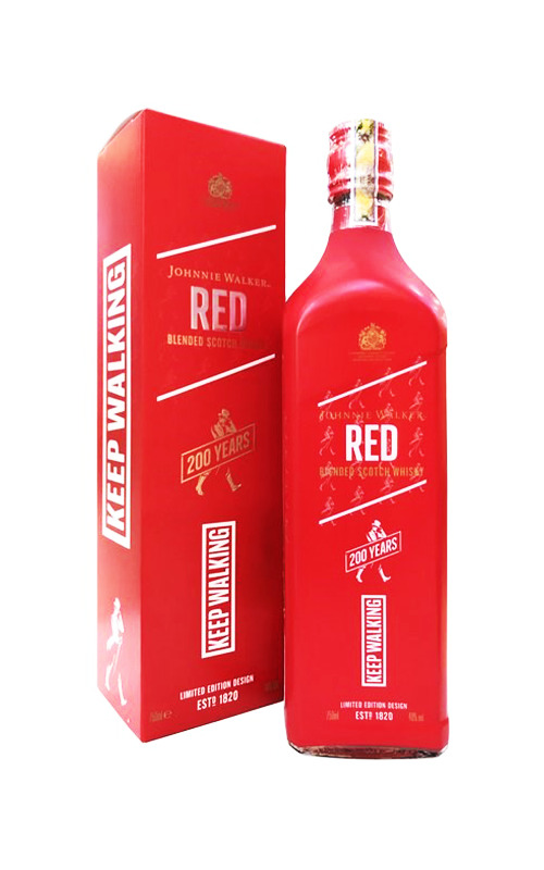 Johnnie Walker Red Label 200 Years Icons Limited Edition
