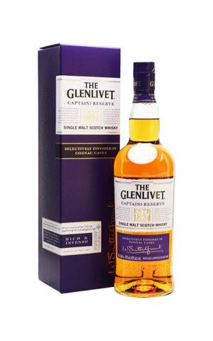 Rượu Glenlivet Captain's Reserve Cognac Casks
