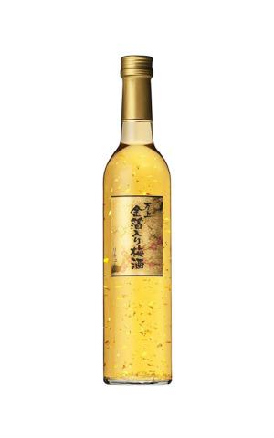 Rượu Liquor Choya Vảy Vàng