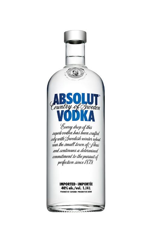 Rượu Pha Chế Absolut Vodka 1000ml