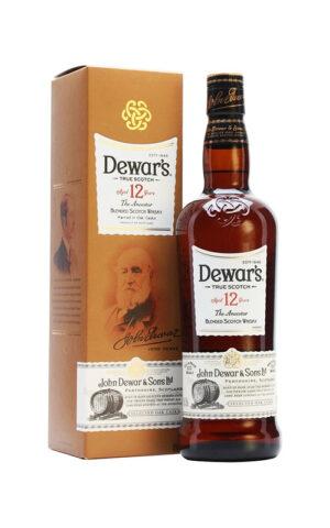 Rượu Scotch Dewar's 12 Years Old 1000ml