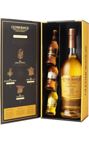 Rượu Scotch Glenmorangie Original (include 3 mini bottle)