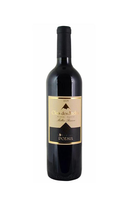 Rượu Vang Argentina Bodega Poesia 'Clos Des Andes' Malbec Reserva 2009