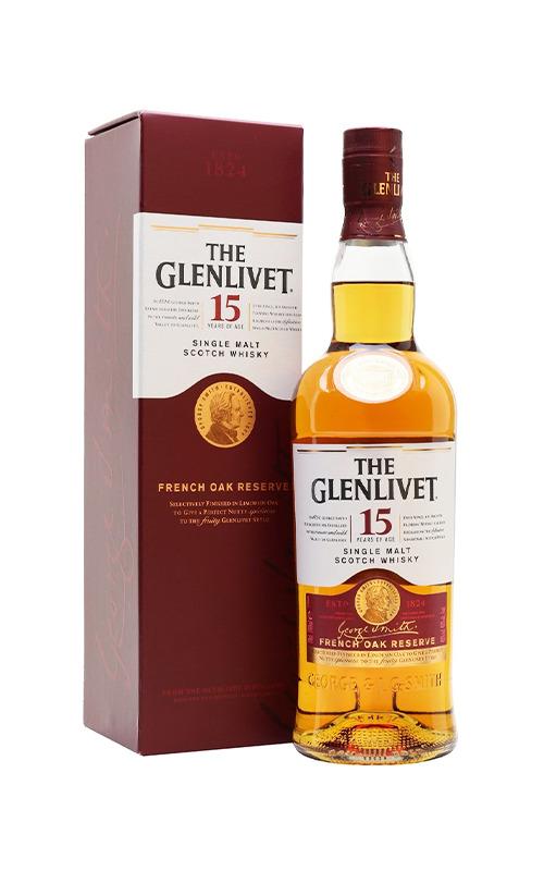 Rượu Whisky Glenlivet 15 Years Old 1000ml