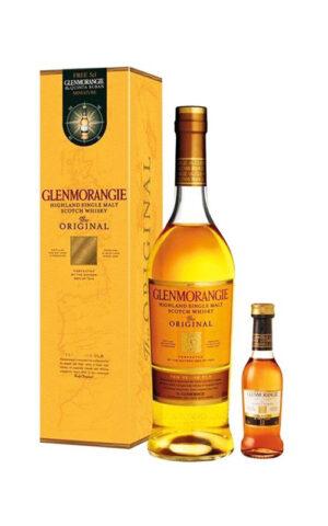 Rượu Whisky Glenmorangie Original (include 1 mini bottle)