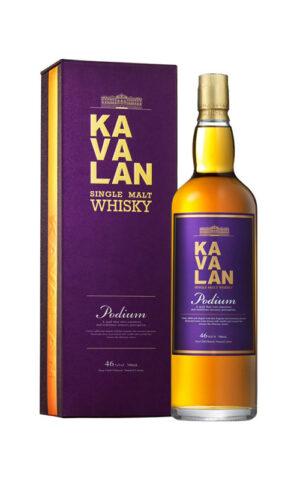 Single Malt Whisky Kavalan Podium