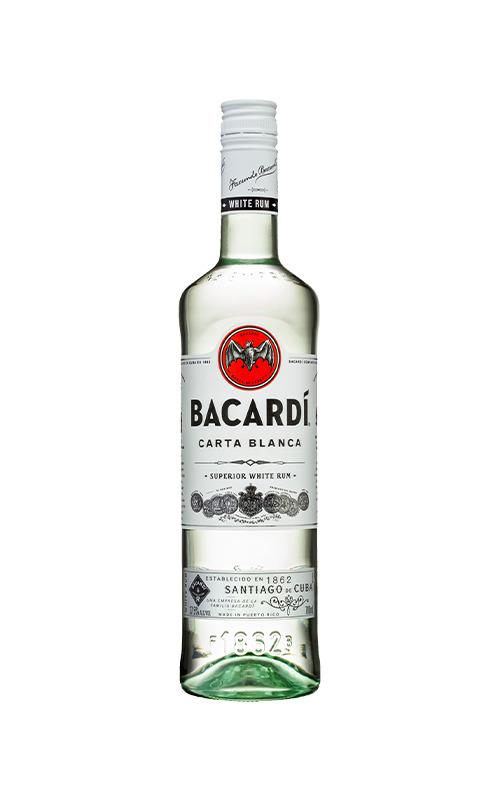 Bacardi White Rum (Trắng) 750ml