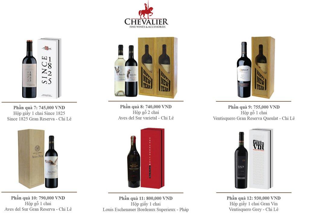 Bảng Giá Rượu Vang