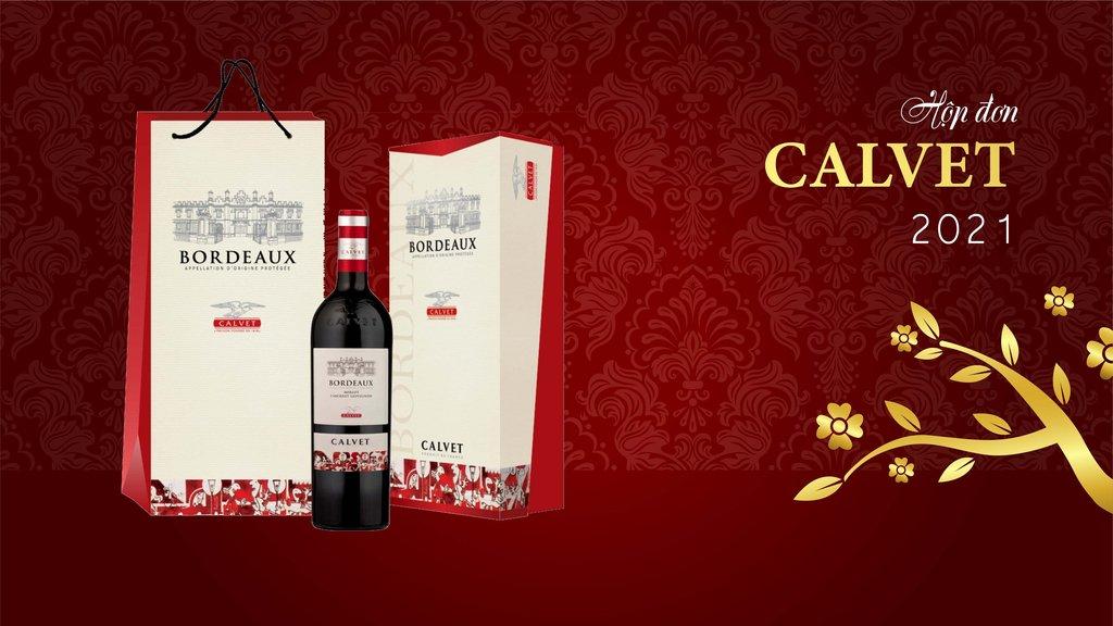 Rượu Vang Pháp Calvet Conversation Merlot Cabernet