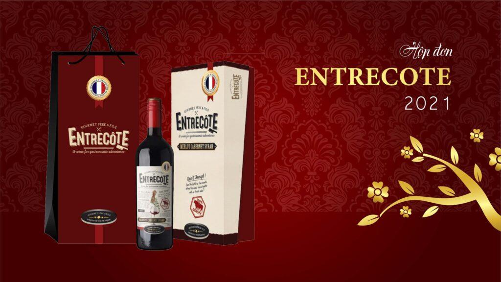 Rượu Vang Pháp Gourmet Pere & Fils Entrecote