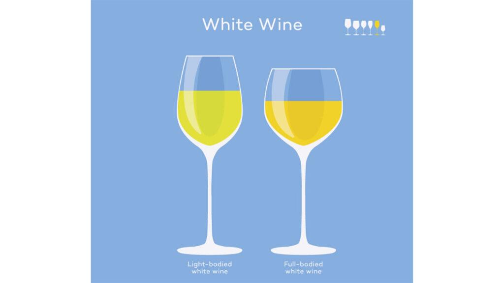 Ly Rượu Vang Trắng