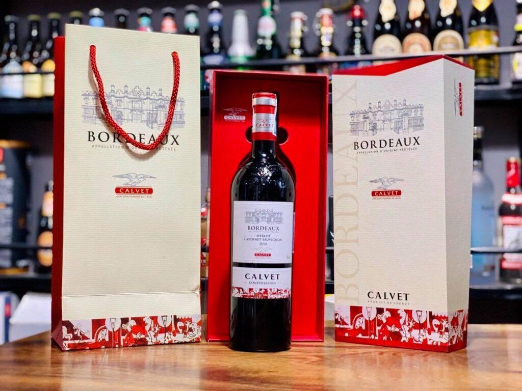 Rượu ngoại Calvet Bordeaux