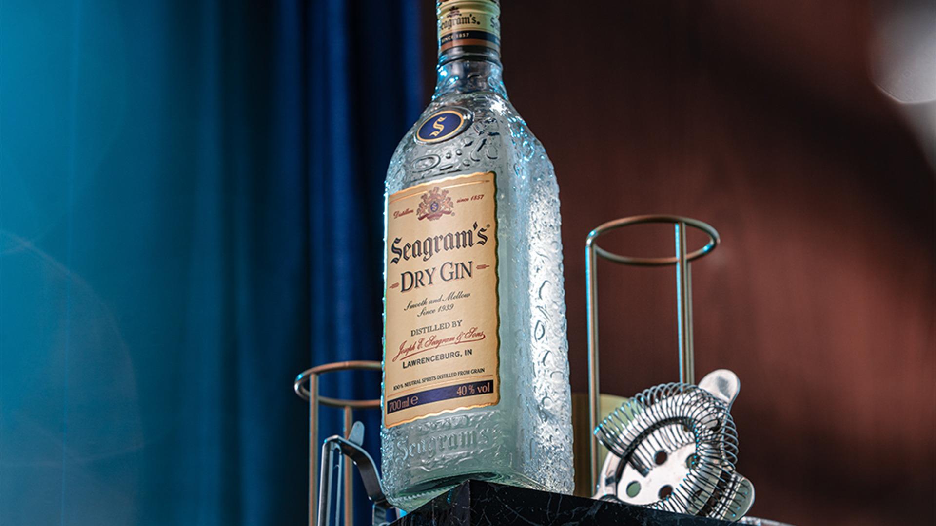 Rượu Seagram's Gin