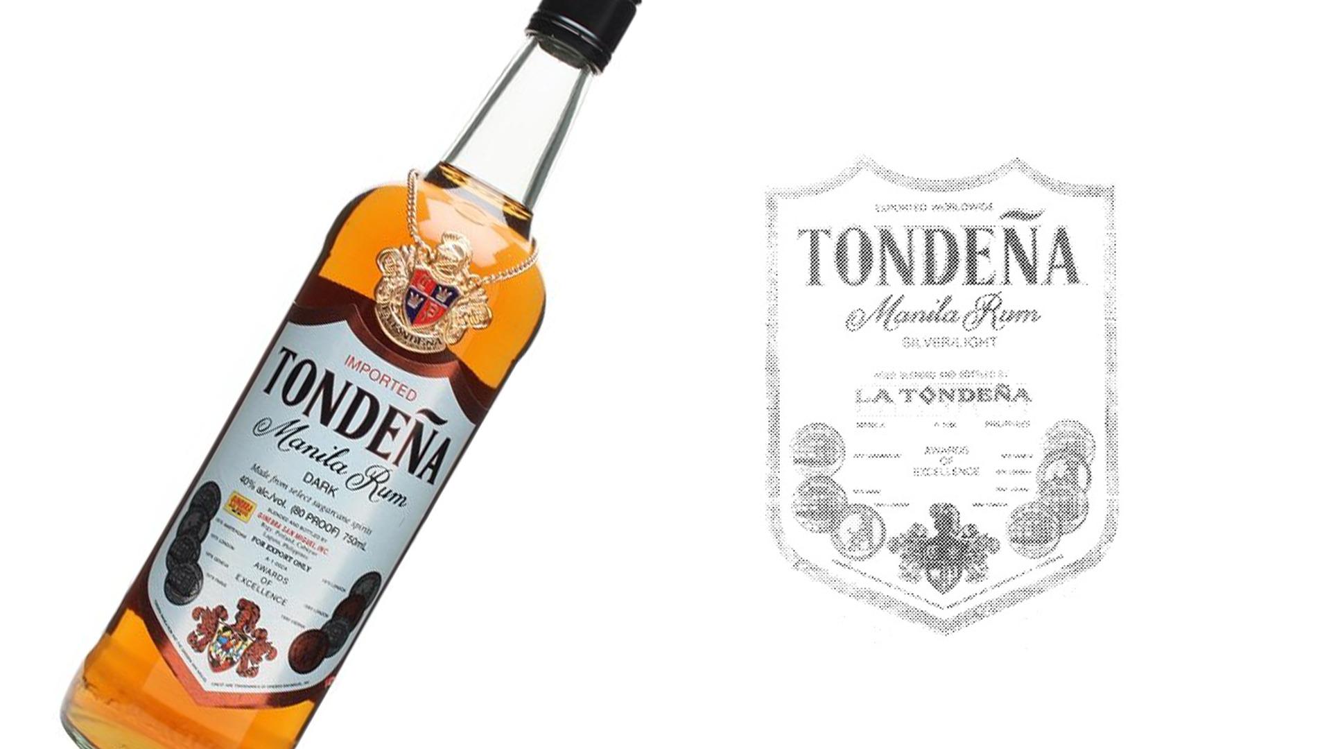 Rượu Tondena Manila Rum