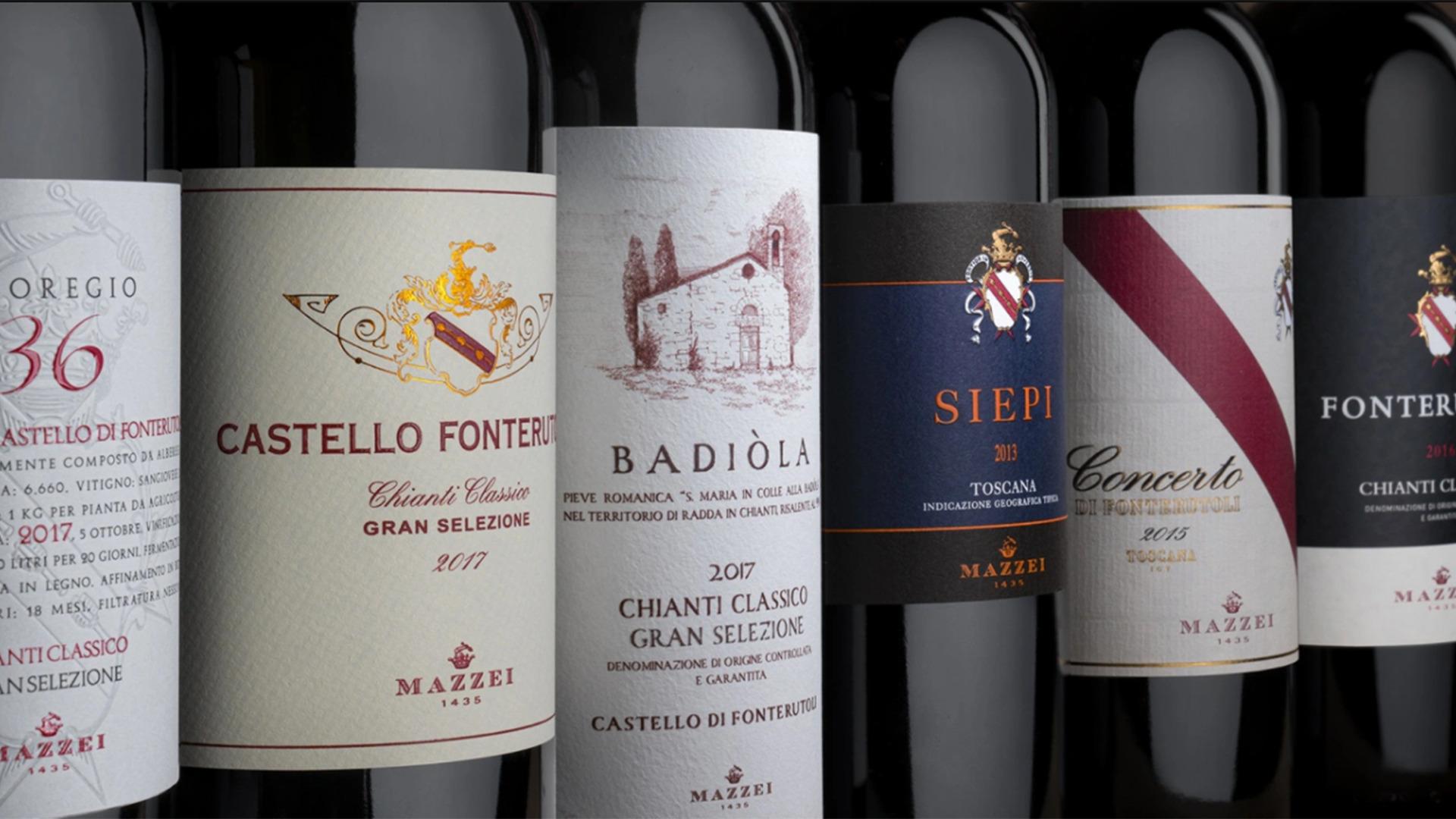 Rượu Vang Castello di Fonterutoli - Mazzei