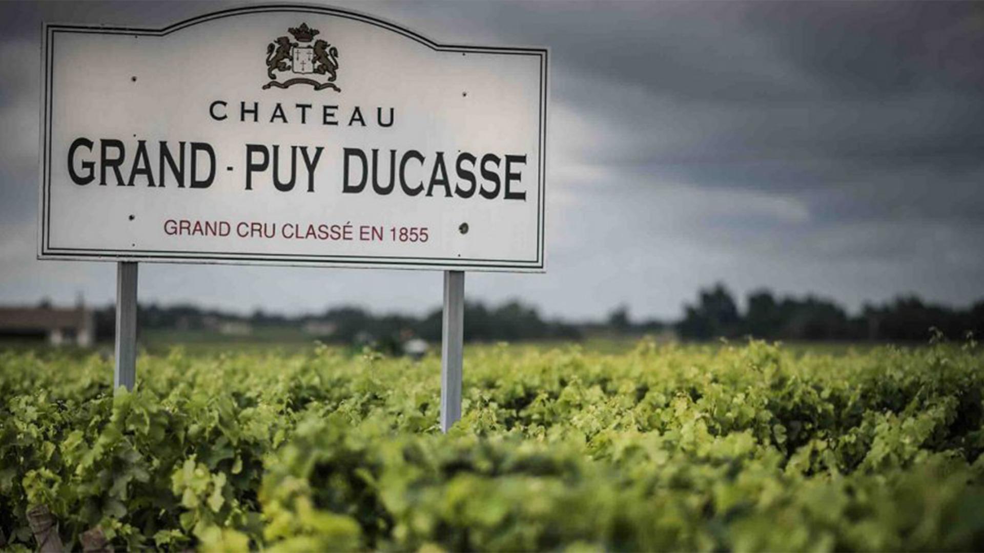 Rượu Vang Chateau Grand-Puy Ducasse