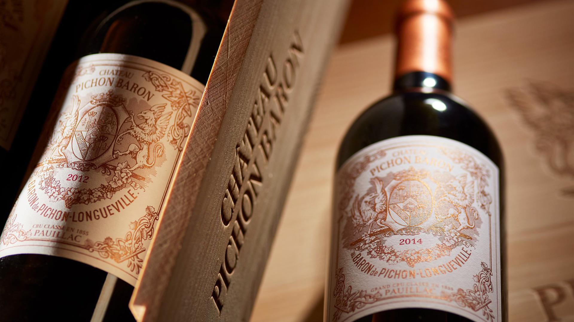 Rượu Vang Chateau Pichon-Longueville Baron