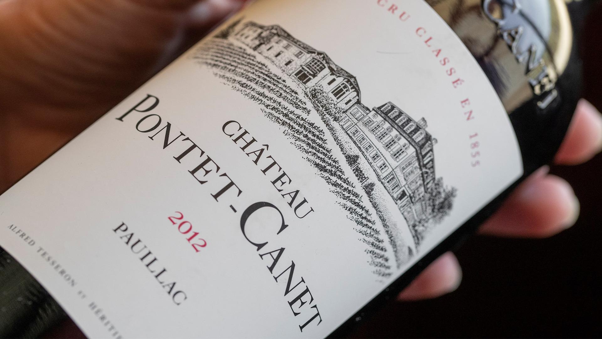 Rượu Vang Chateau Pontet-Canet