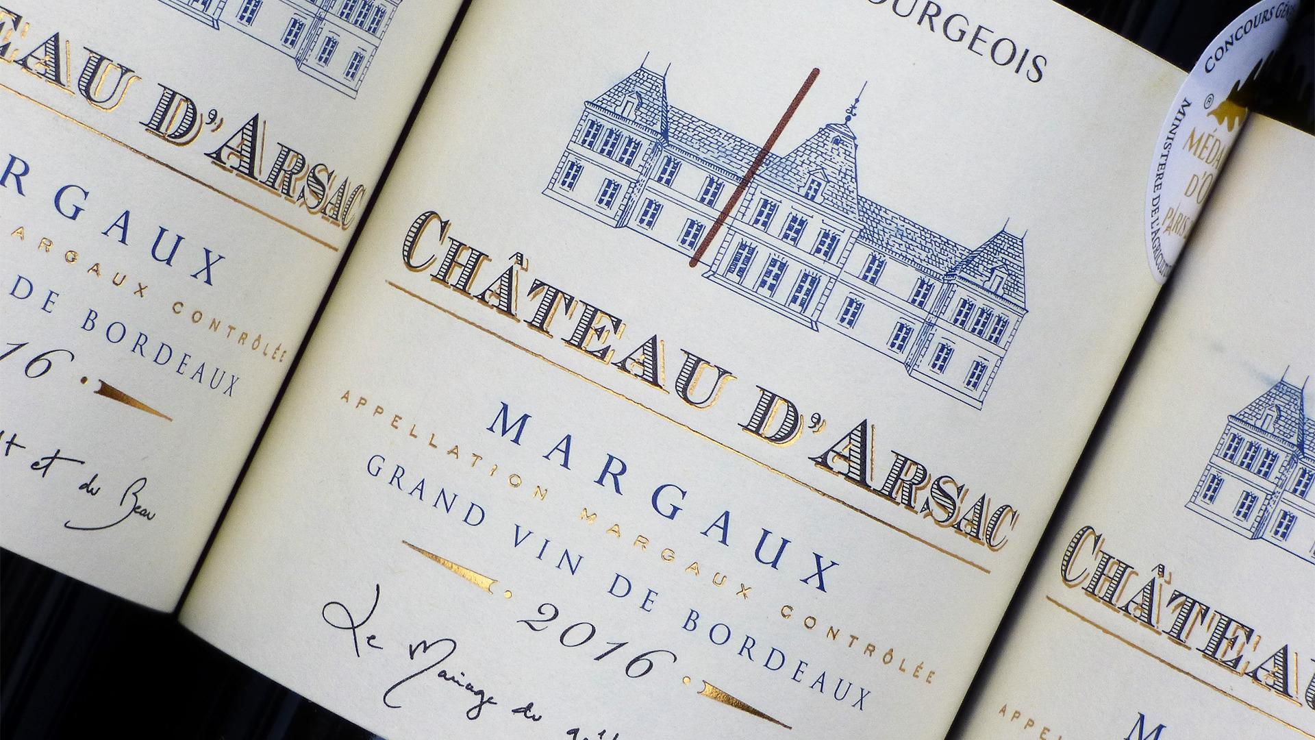Rượu Vang Chateau d'Arsac