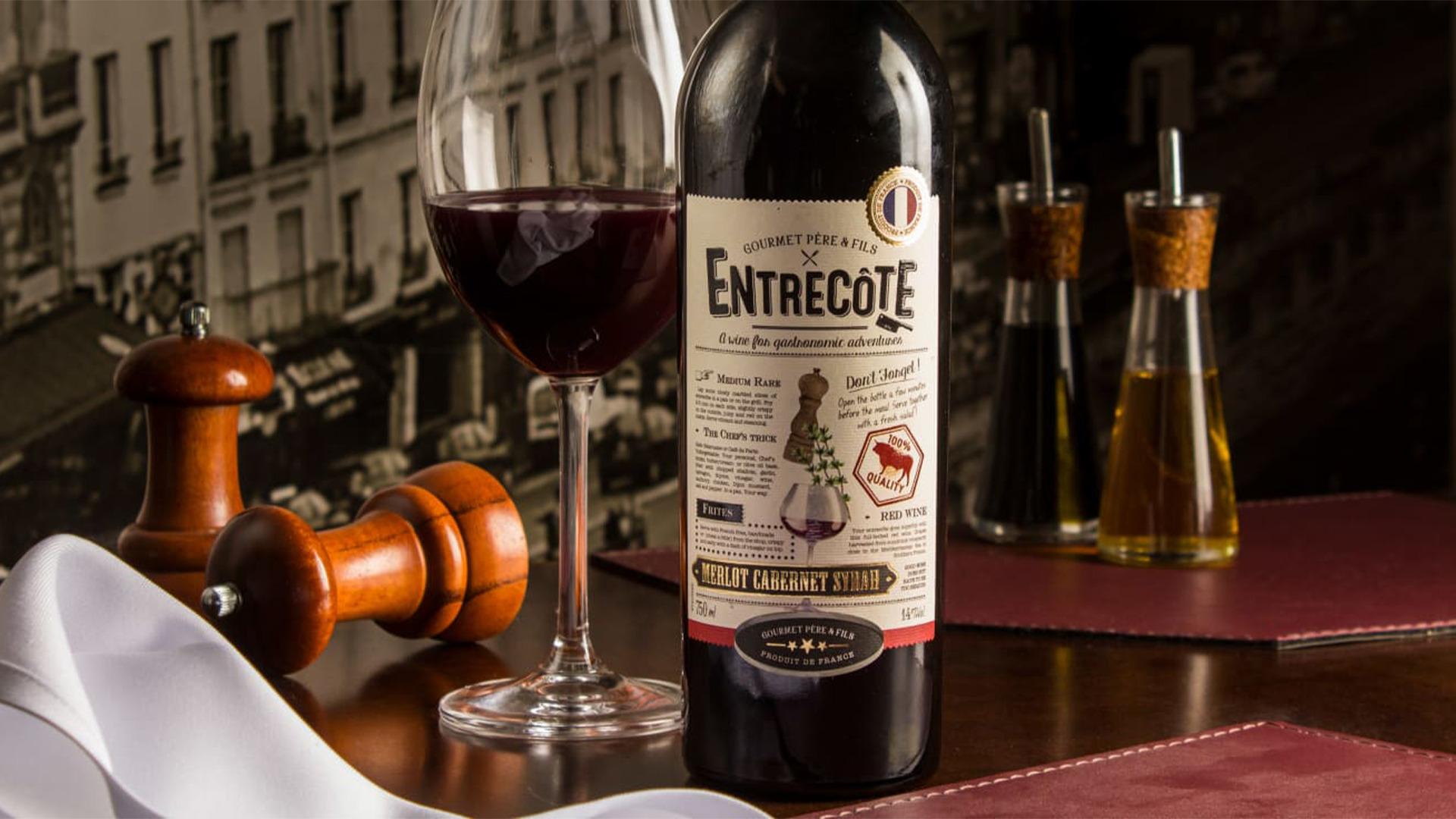 Rượu Vang Gourmet Pere & Fils
