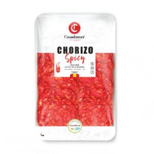 Xúc Xích Chorizo Extra Cular Hot Sliced (100g)